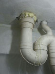 PU grouting-kitchen pipe1